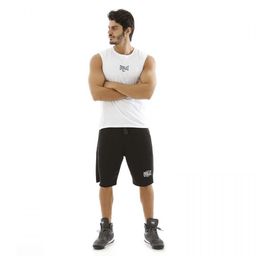 Camiseta Regata Machão Everlast Algodão Básica - Masculina 3b14a70d760