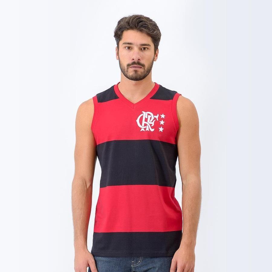 9f108a892e784 Camiseta Regata do Flamengo Retrô Mania Libertadores - Masculina