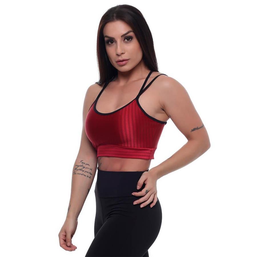 Top Fitness Hard Clothing Fit Luxe Cirrê - Feminino c2cbf932480