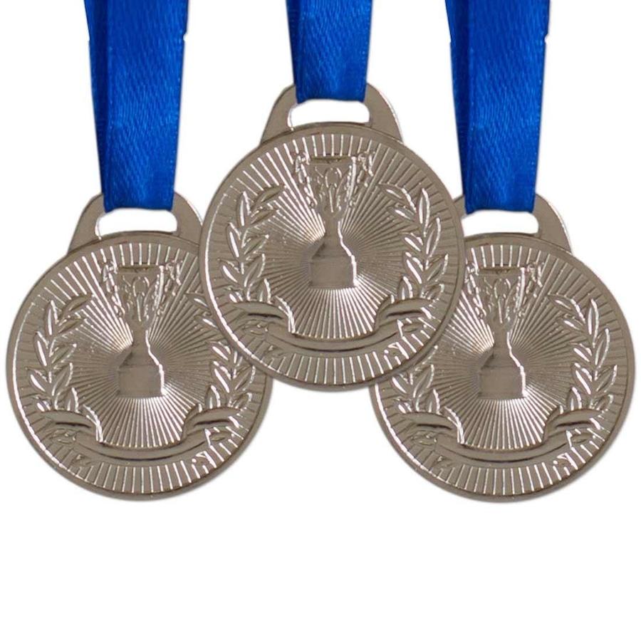 9102bce31 Kit AX Esportes  Medalhas de Honra ao Mérito Prata - FA465 - 30mm - 10 itens