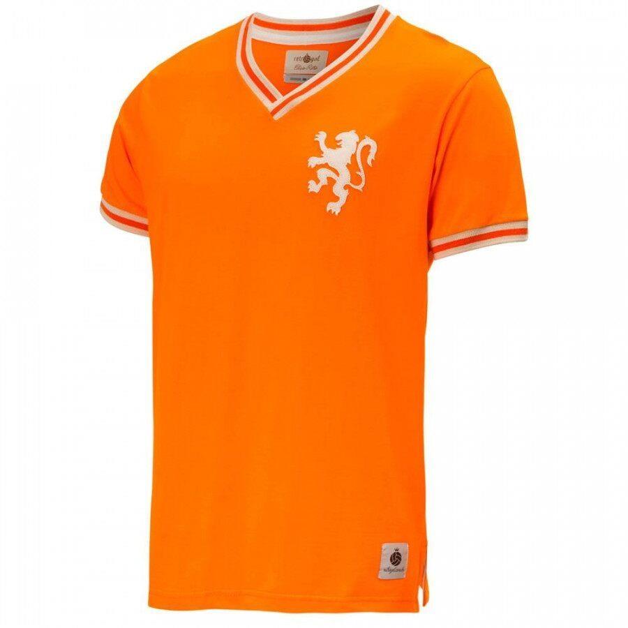 a6f3dc0cef48e Camiseta da Seleção Holanda Retrô Gol Away Edição Limitada - Masculina