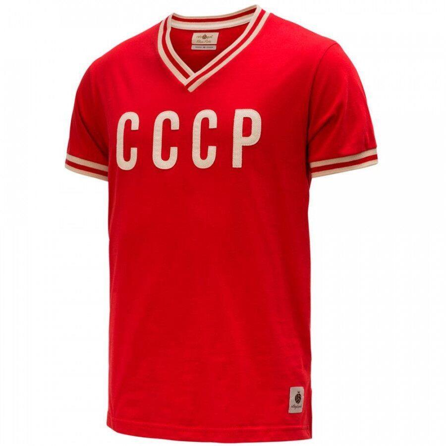 333b80880 Camiseta da Seleção CCCP Retrô Gol Edição Limitada - Masculina