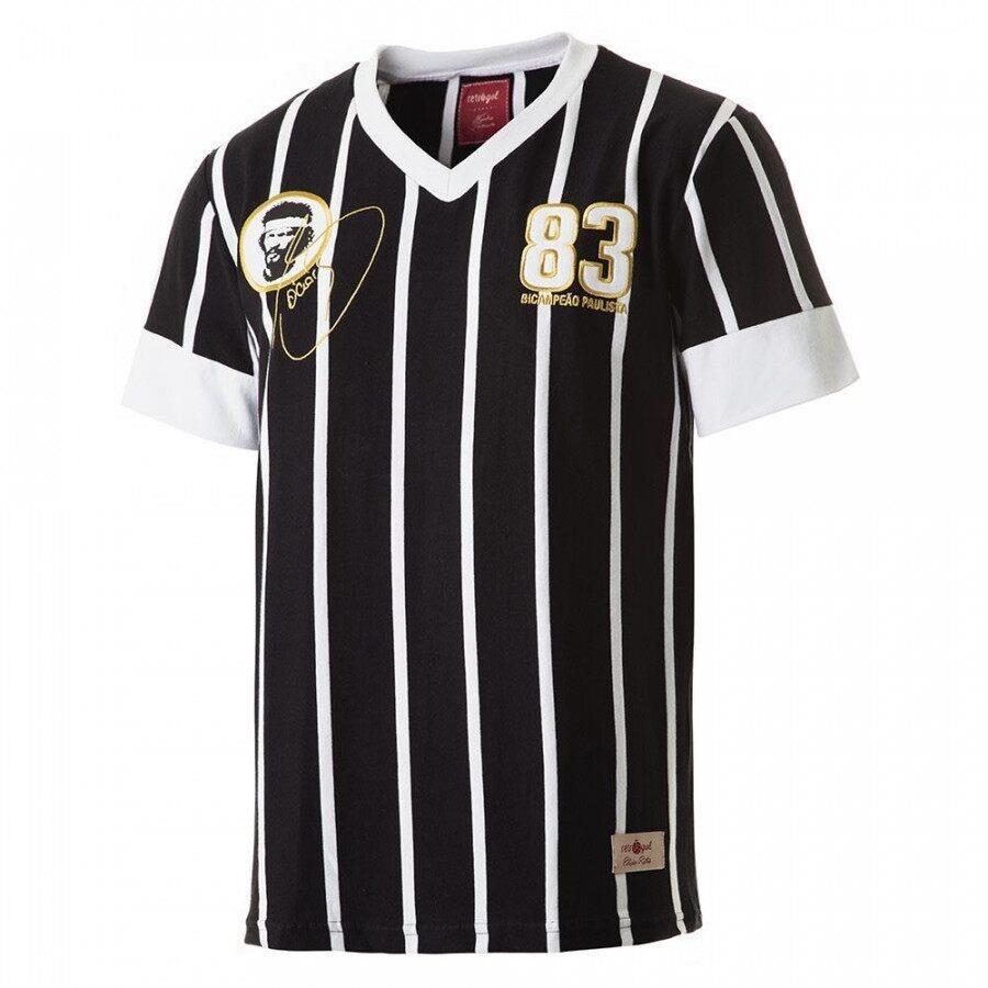 Camiseta do Corinthians Retrô Gol Sócrates 83 - Masculina b84a0c7e19ccf
