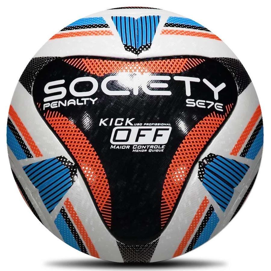 Bola de Society Penalty Sete R1 Kick Off IX 2cff188f434cb