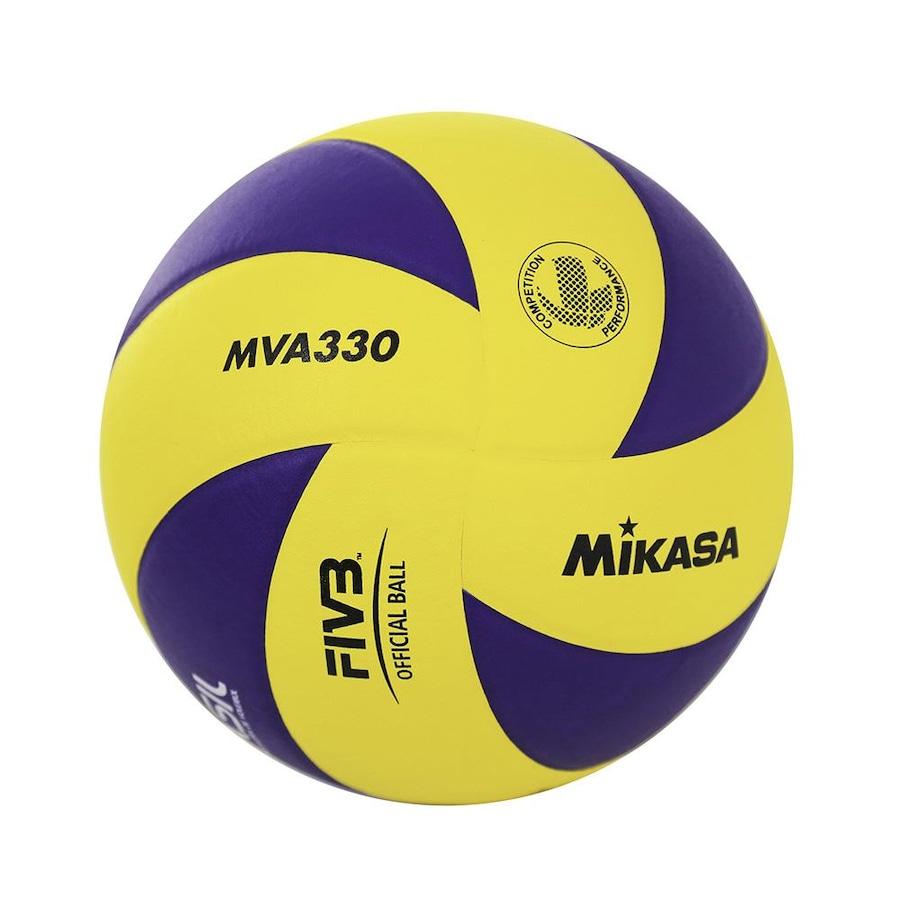 184a25da5c Bola de Vôlei Mikasa em Couro Sintético MVA330
