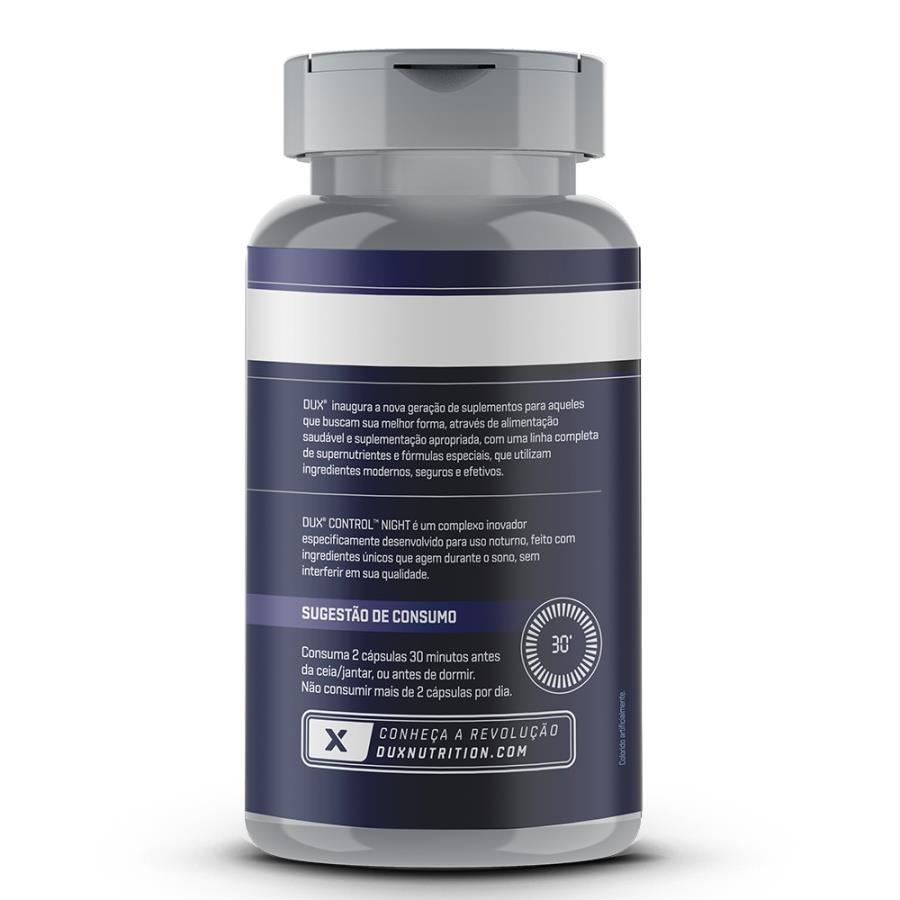 62280597bb Burn Control Night Pote 60 capsulas - Dux Nutrition