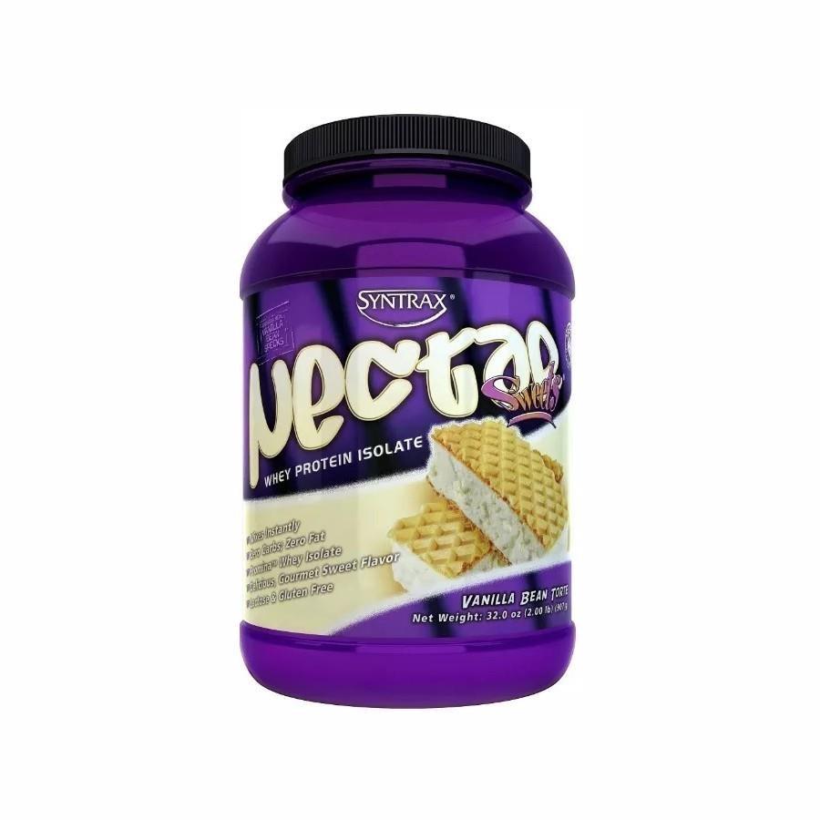 20d2f3769 Nectar Sweets Whey Protein Isolado Vanilla Bean Torte (907g) Syntrax