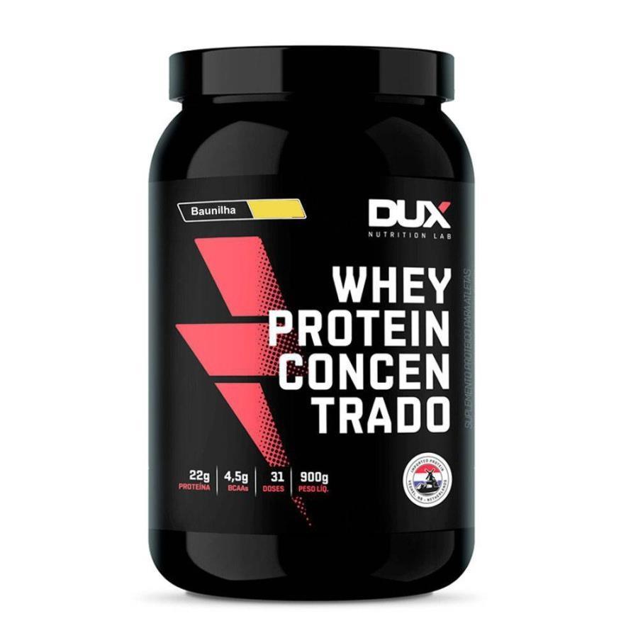5aaa6002b Whey Protein Concentrado Baunilha 900g - Dux Nutrition