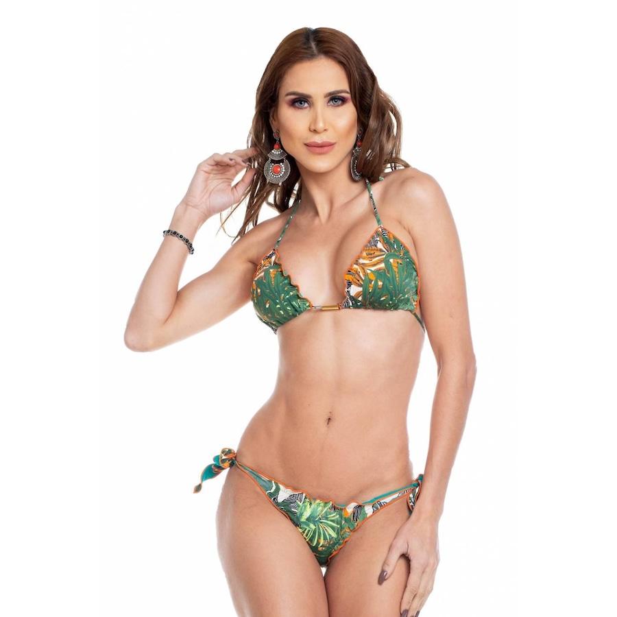 5377d78141 Biquíni Cortininha Maré Brasil Ripple Dupla Face I - Adulto