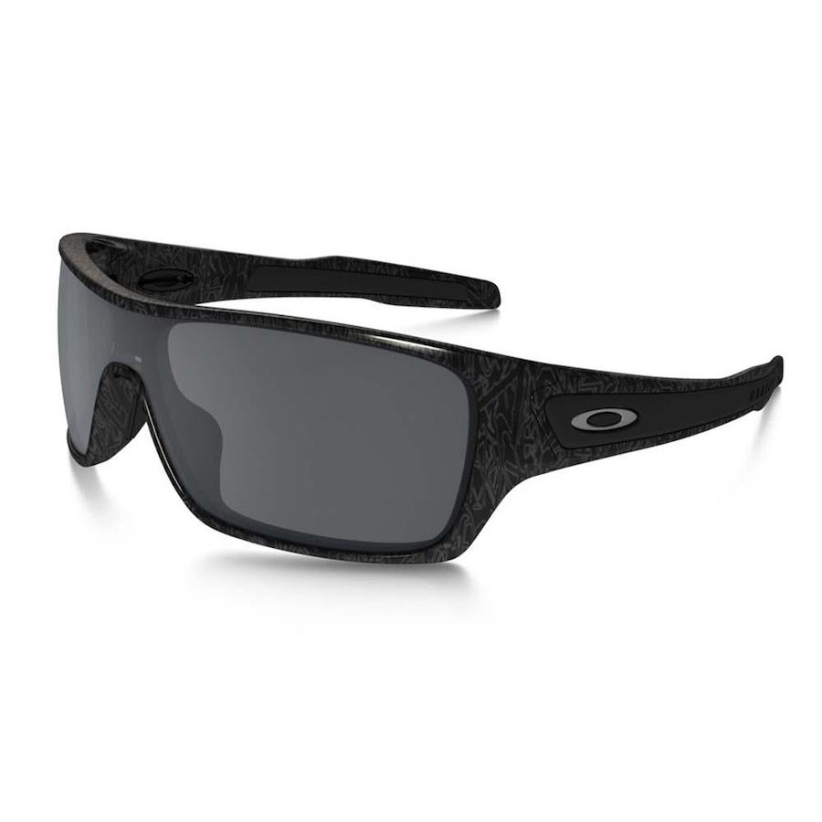 2409901e1b7c1 Óculos de Sol Oakley Turbine Rotor Black Silver Ghost 9307-02 - Unissex