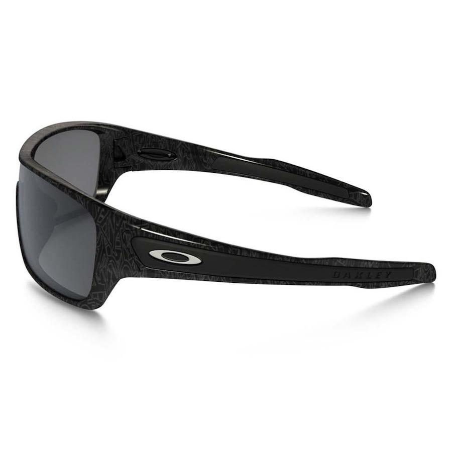 Óculos de Sol Oakley Turbine Rotor Black Silver Ghost 9307-02 - Unissex 293566e1a1