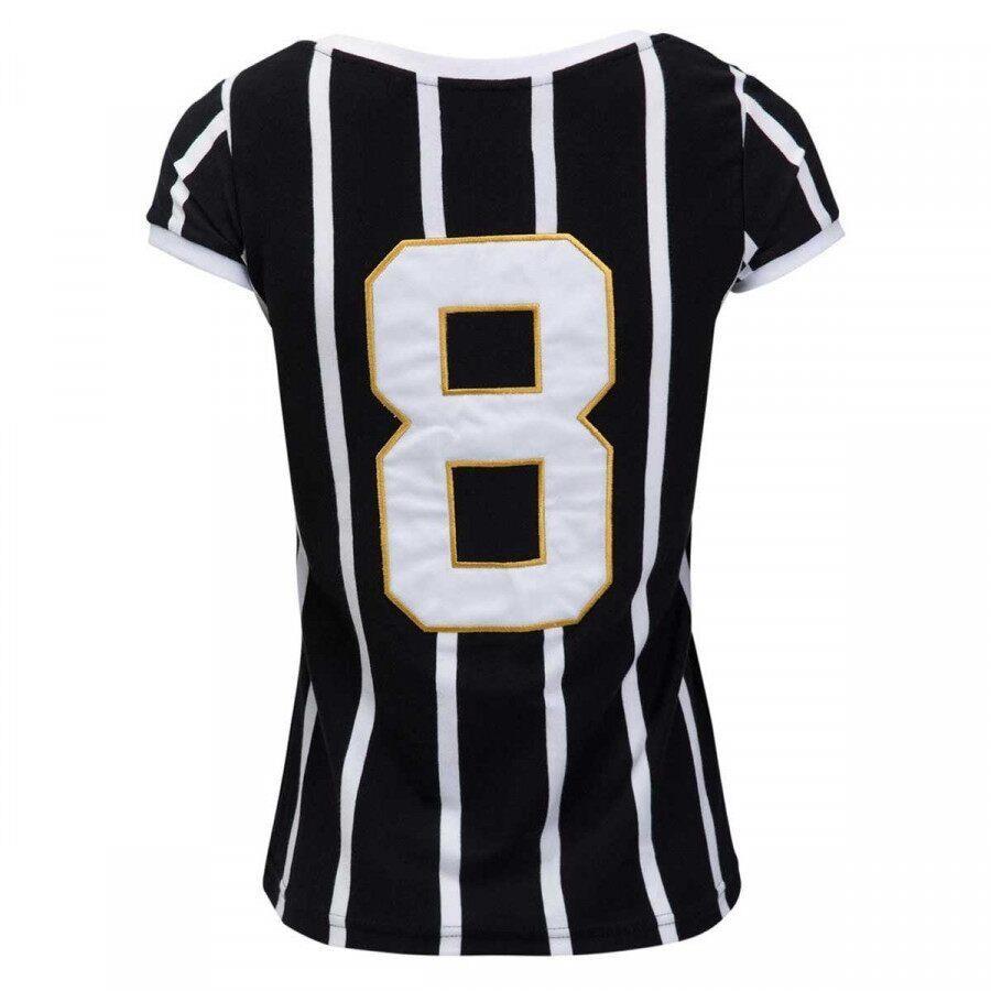 Camiseta do Corinthians Retrô Gol Basílio - Feminina d8647bfec9f9d