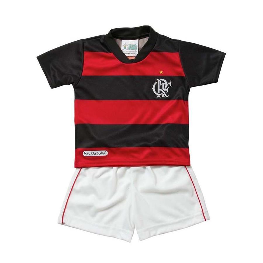 9978dfb84a Conjunto do Flamengo Torcida Baby Helanca - Infantil