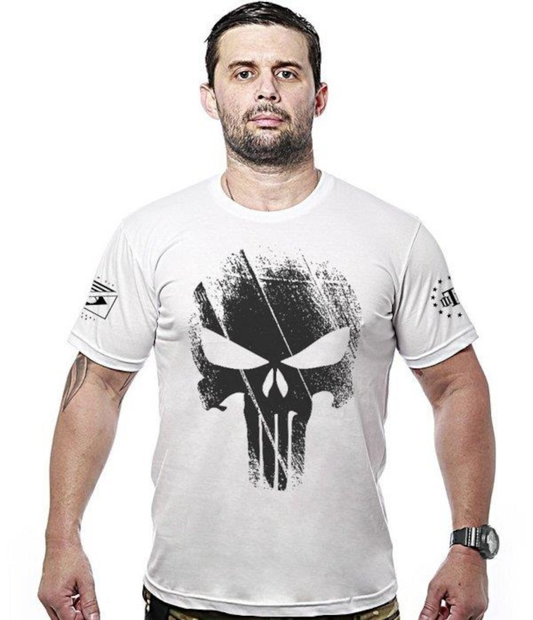030c9e63eac4c Camiseta Team Six Militar Justiceiro Punisher - Masculina