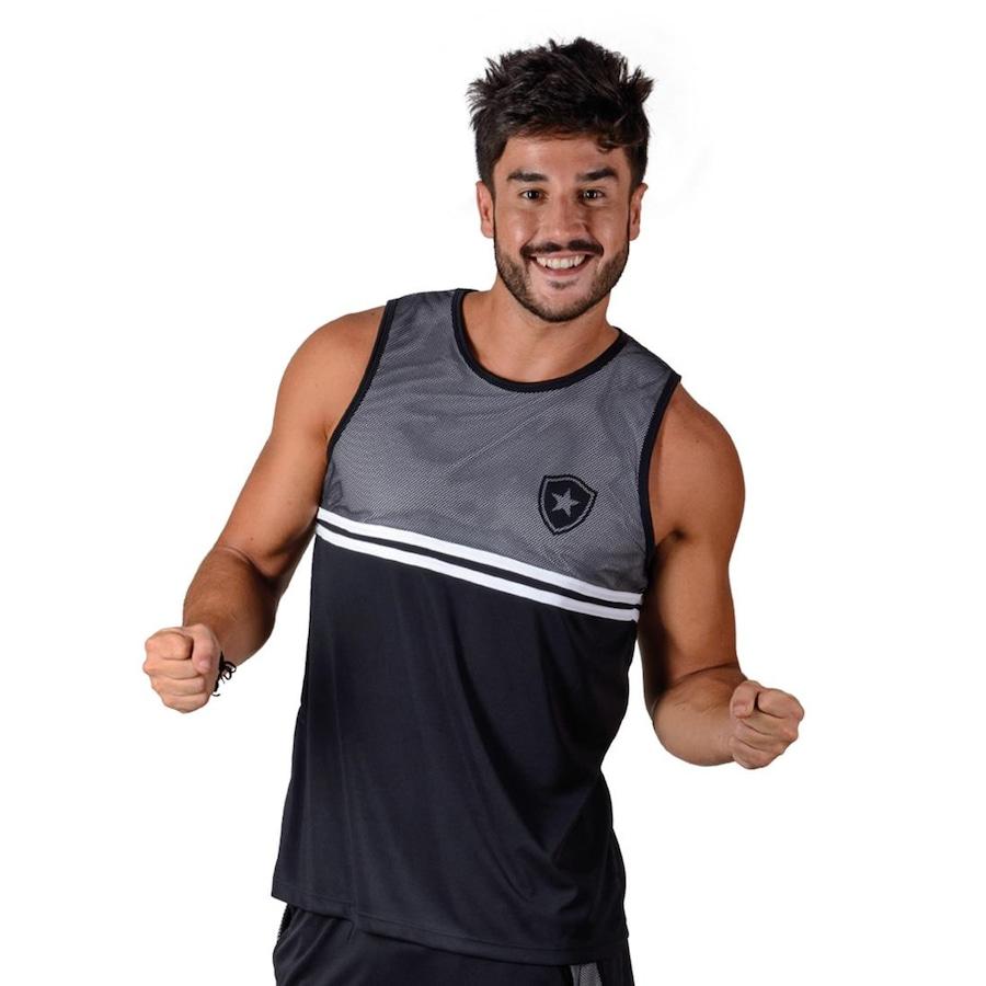 ee0f5278cfb37 Camiseta Regata Botafogo Braziline Roots - Masculina