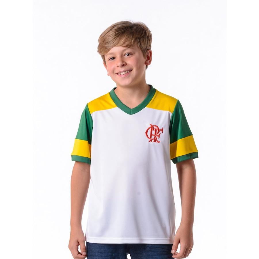 Camiseta do Flamengo Braziline Brasil Retro - Masculina 13c069ac02c0d
