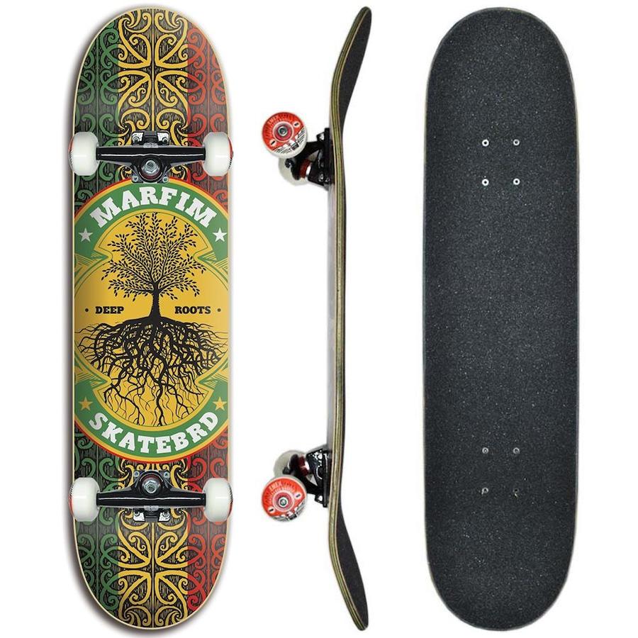 6892b028c36 Skate Marfim Completo Profissional Raiz - 8.0