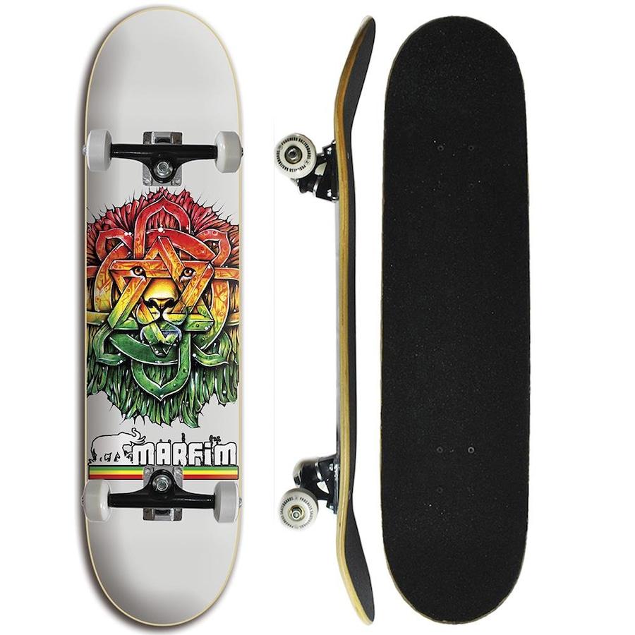 58a61c0255f Skate Marfim Completo Iniciante - Leão de Judah