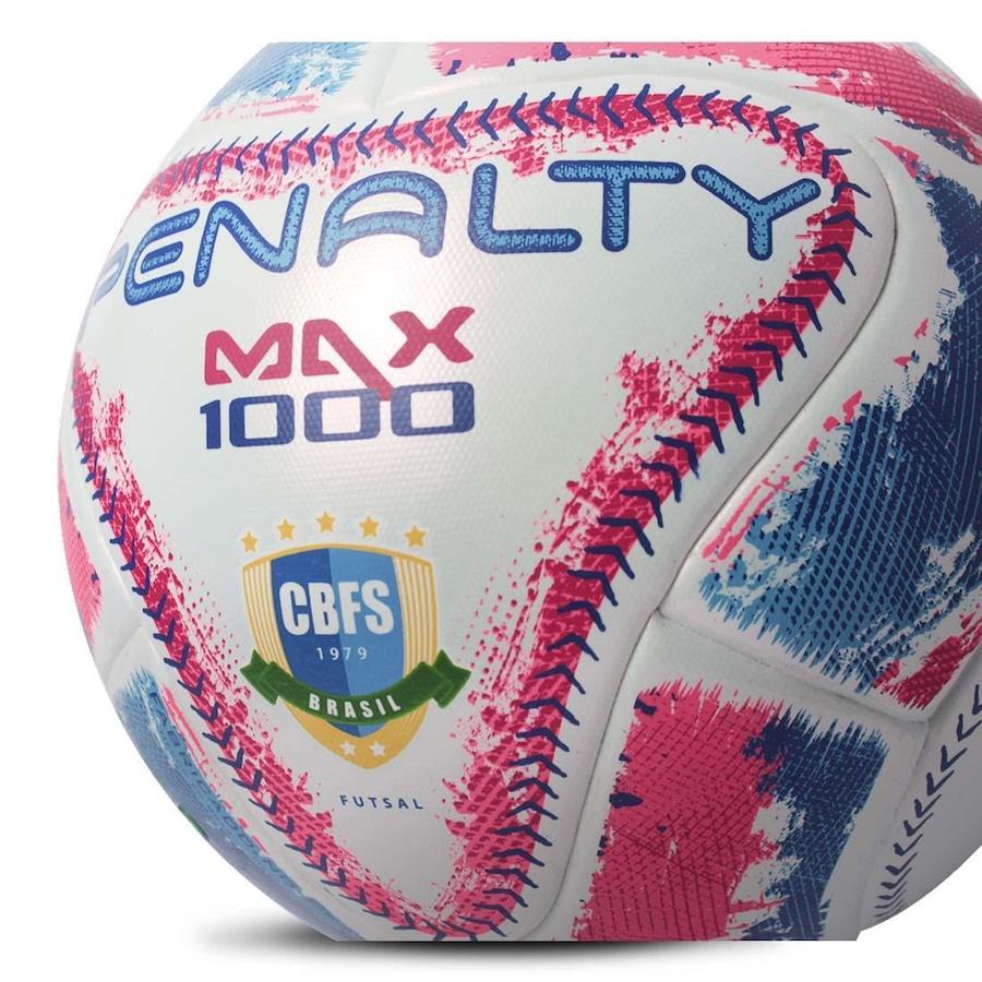 Bola do Futsal Penalty Max 1000 IX Aprovada Fifa 2019 369f2fa1b3607