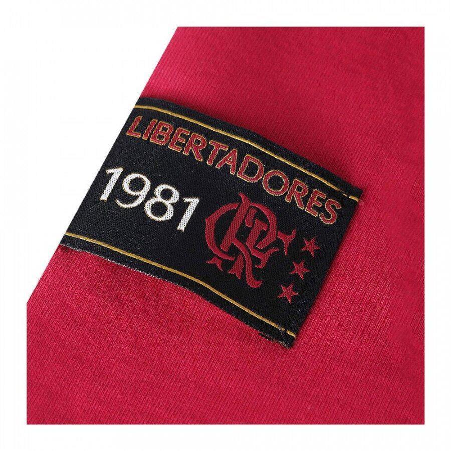 bc380ebd9e Camisa Retrô Gol Flamengo Zico Libertadores - Masculina