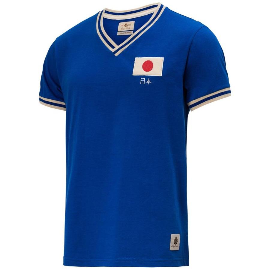 a692883cf80cc Camisa Retrô Gol Seleção Japão Edição Limitada
