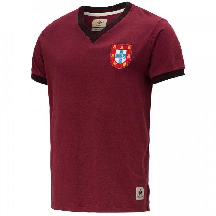 88b6d28fcf Camiseta Portugal Retrô Gol Edição Limitada - Masculina