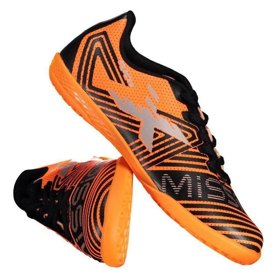 5d9315672a0d0 Chuteira de Futsal OXN Mission II - Infantil