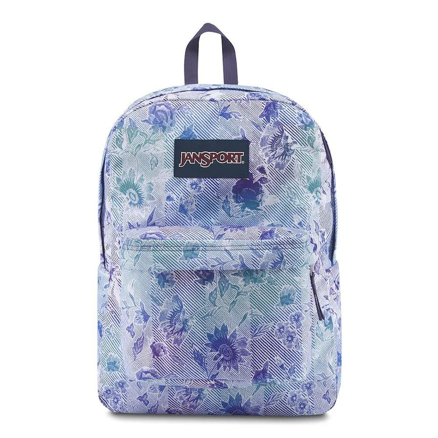 a6a18db19 Mochila Jansport Superbreak Striped Floral