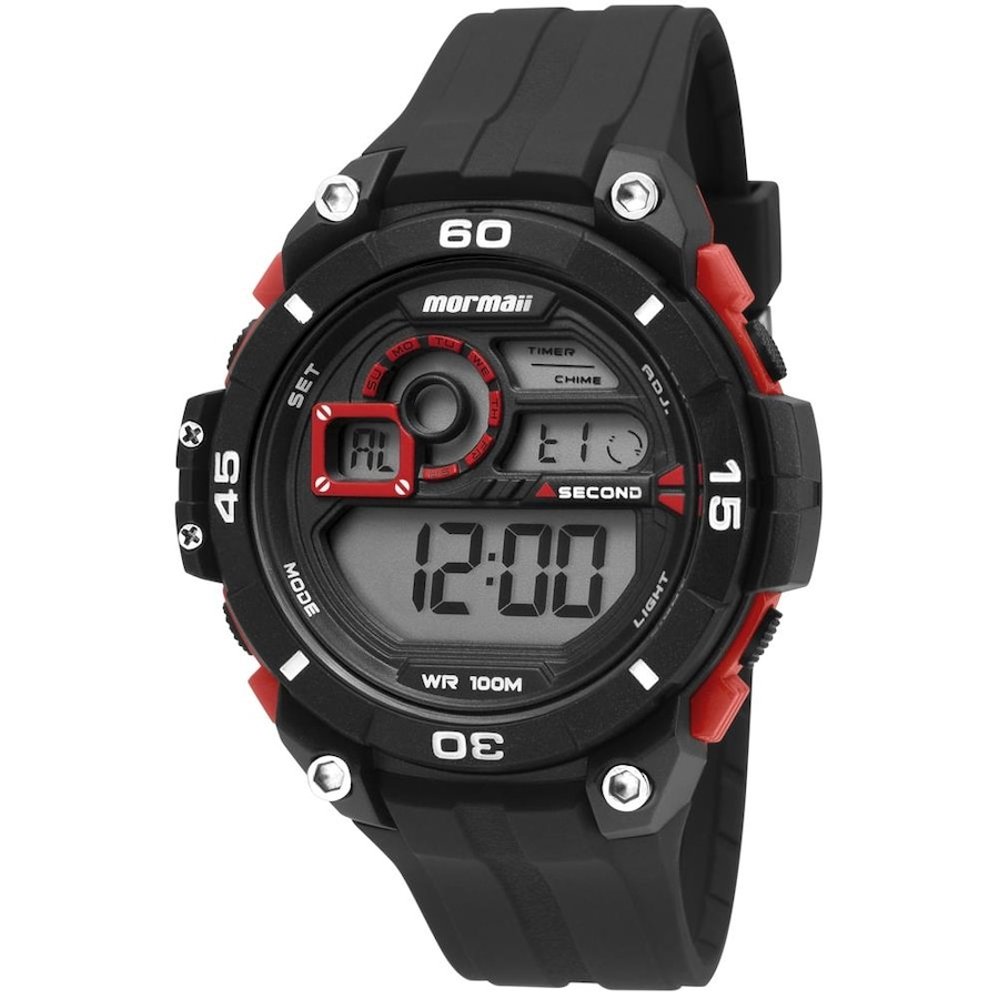 0dad615eb Relógio Digital Mormaii Acqua Wave MO20198R - Masculino