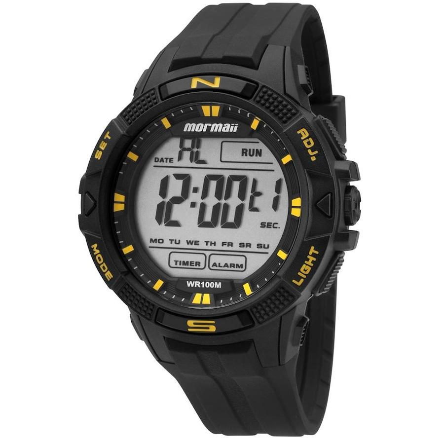 9ec0d832ab34b Relógio Digital Mormaii Acqua Wave MO50018Y - Masculino
