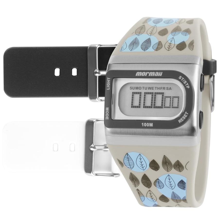 4677551675161 Relógio Digital Mormaii Acquarela Colors FZI8B - Feminino