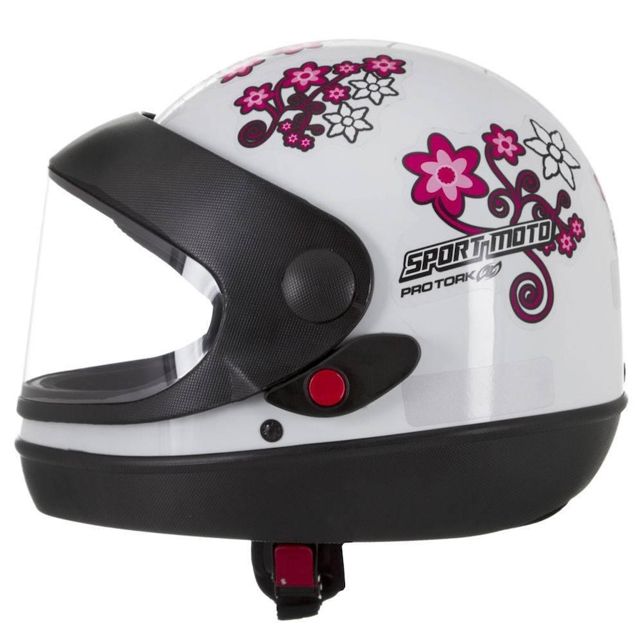 Capacete Pro Tork Sport Moto For Girls - Feminino - Adulto 86066f3feea