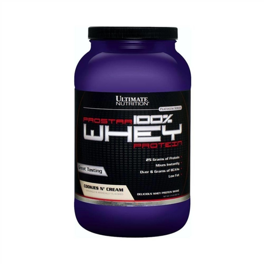 35c2ab498 Whey Prostar New Ultimate Nutrition - Cookies+Cream - 907g