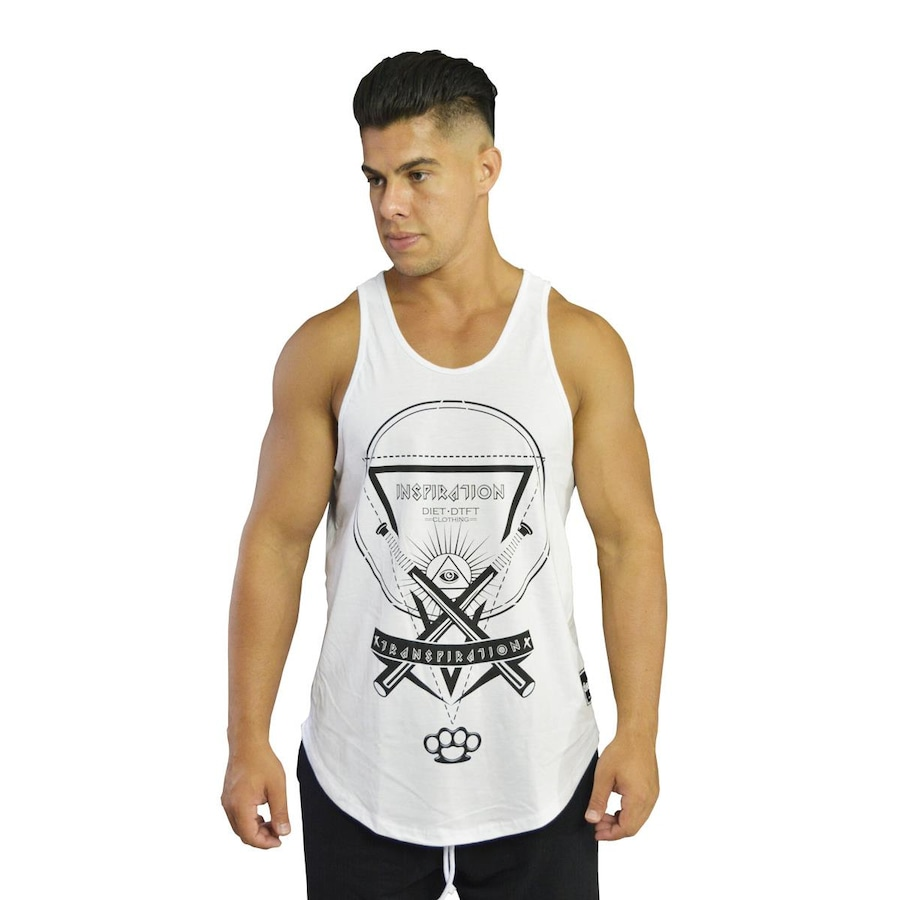 e9c85ee6a9 Camiseta Regata Diet Fitness Inspiration Tradicional - Masculina