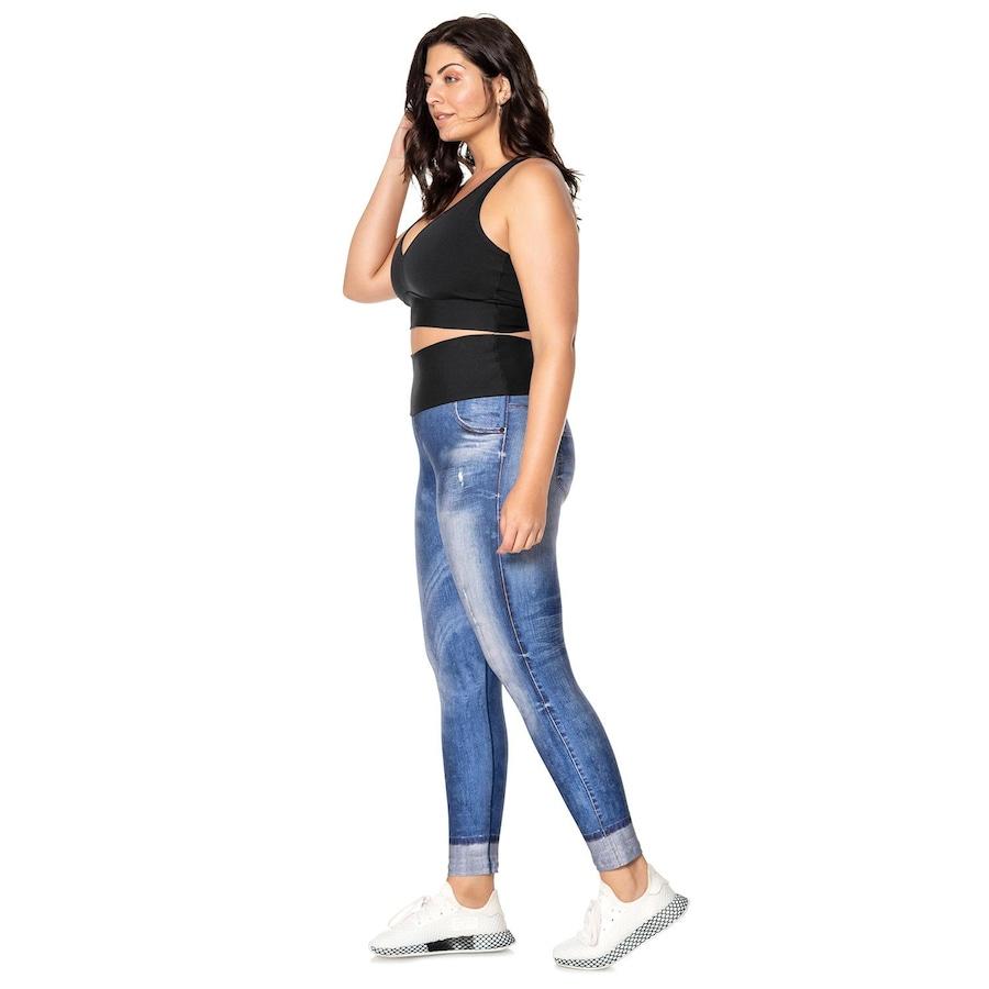 9ad08a7c1 Calça Legging Live! Jeans Original Plus Size - Feminino