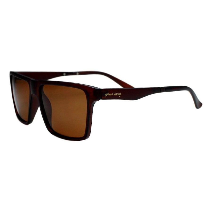 91407f593e8af Óculos de Sol Your Way Lentes Polarizadas - Unissex