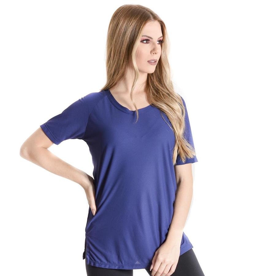 d69e587555 Camiseta Mama Latina Long Finish Line - Feminino