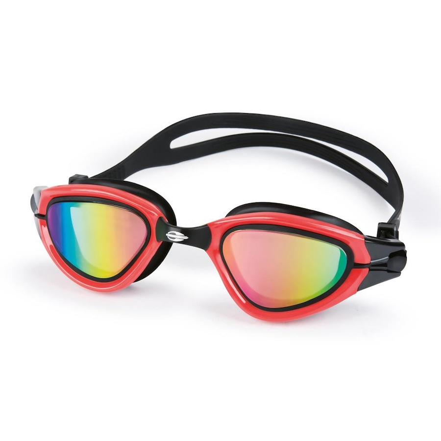 dde3abaf7 Óculos de Natação Mormaii Atlhon Preto/Vermelho