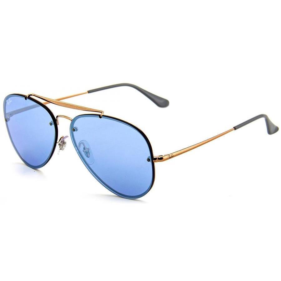 b1521d207 Óculos de Sol Ray Ban Blaze Aviador 90531U/61 - Unissex