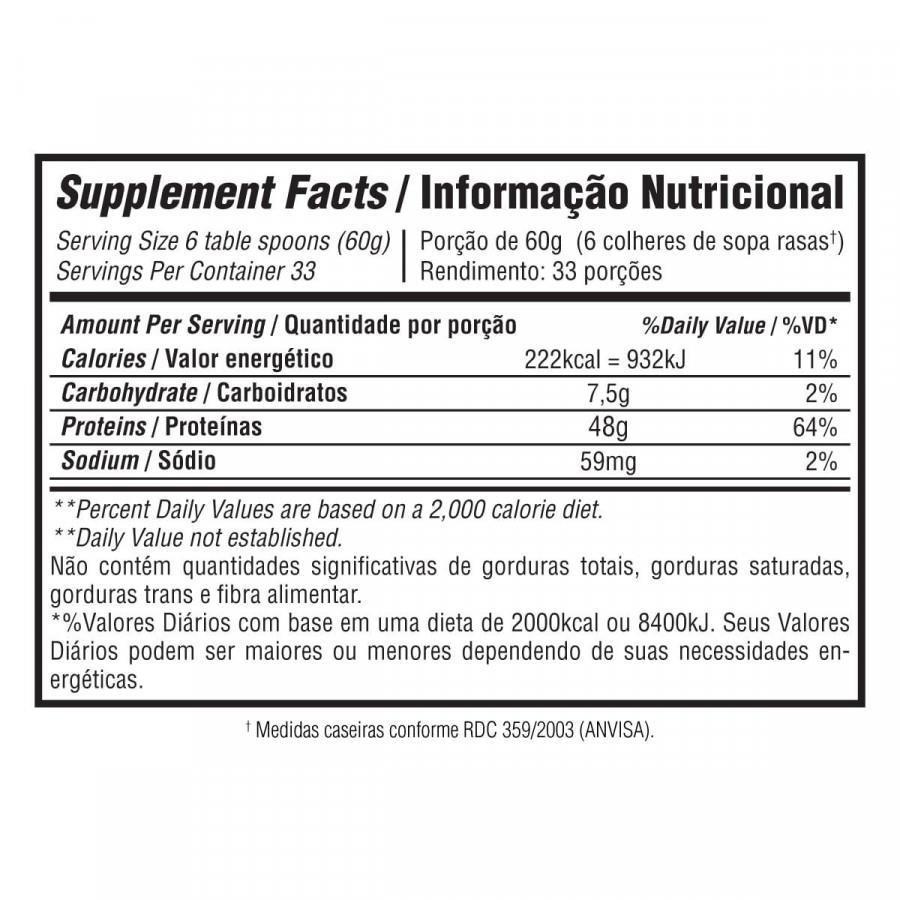 Resultado de imagem para exceda iso protein drink informação nutricional