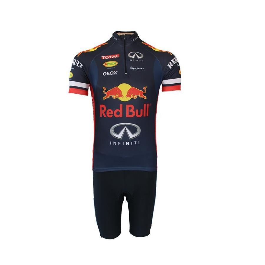 vegetariano Alinear precio  Conjunto Bermuda e Camisa para Ciclismo Pro Tour Red Bull - Masculino