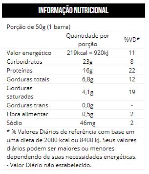 9f575f687 Gold Bar Max Titanium - Cookies e Creme - 12 Unidades - 50g cada