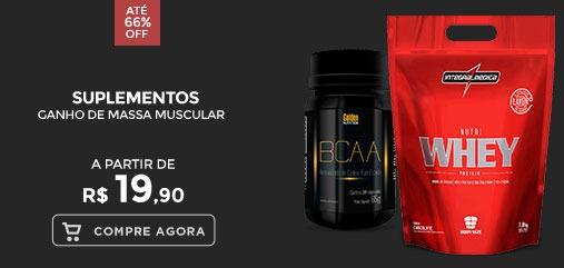 Suplementos para Ganho de Massa Muscular