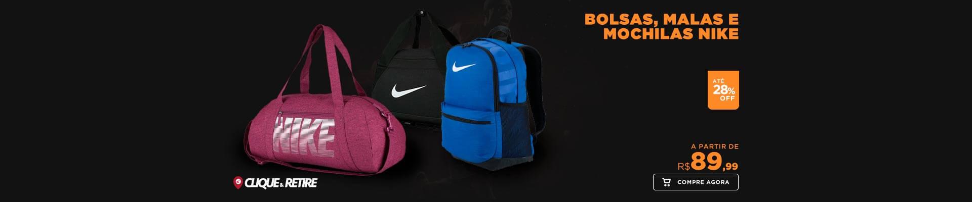 Bolsas, Malas e Mochilas Nike