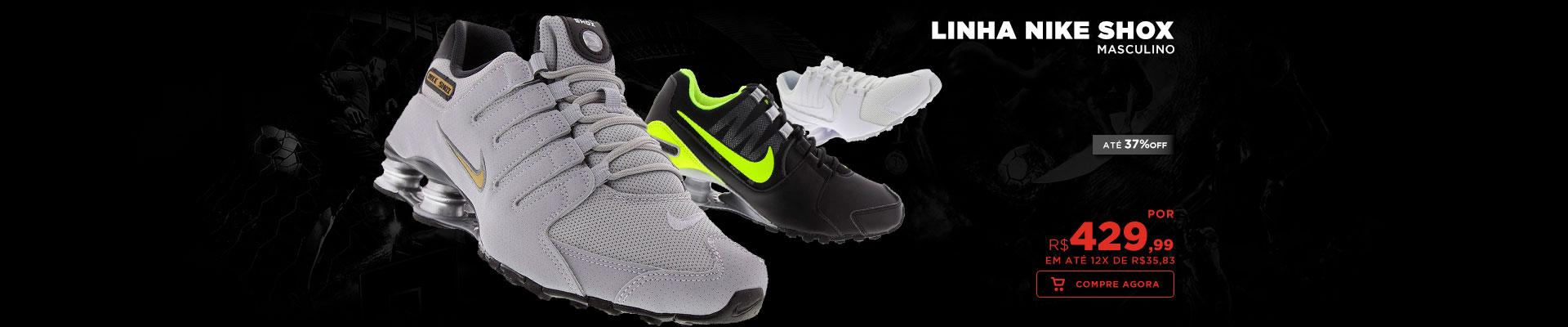 Linha Nike Shox - Masculino e Feminino