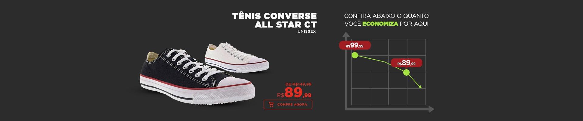 Tênis Converse All Star CT - Unissex