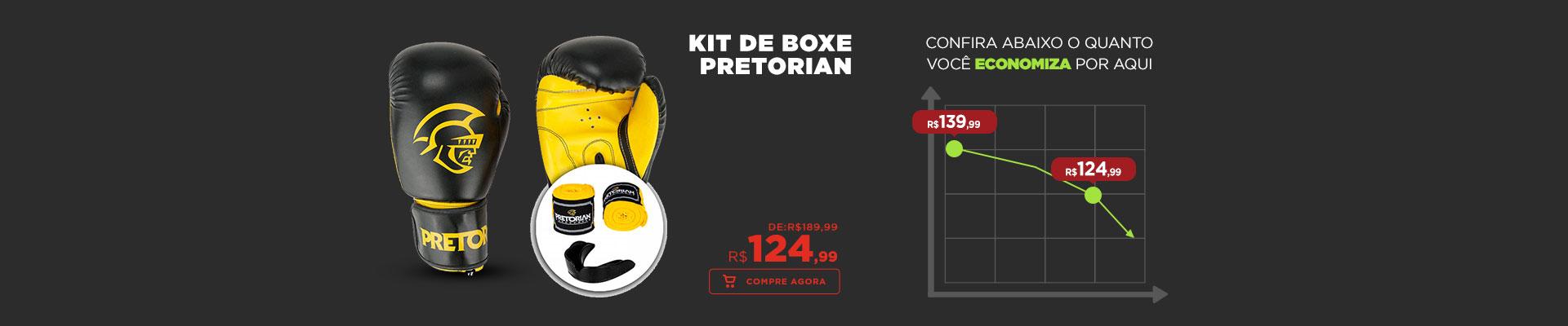 Kit de Boxe Pretorian