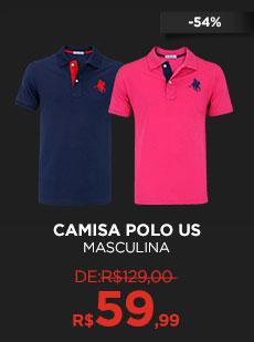 Camisa Polo US - Masculina