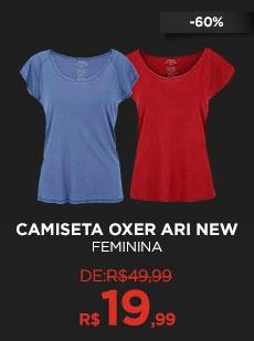 Camiseta Oxer Ari New  - Feminina