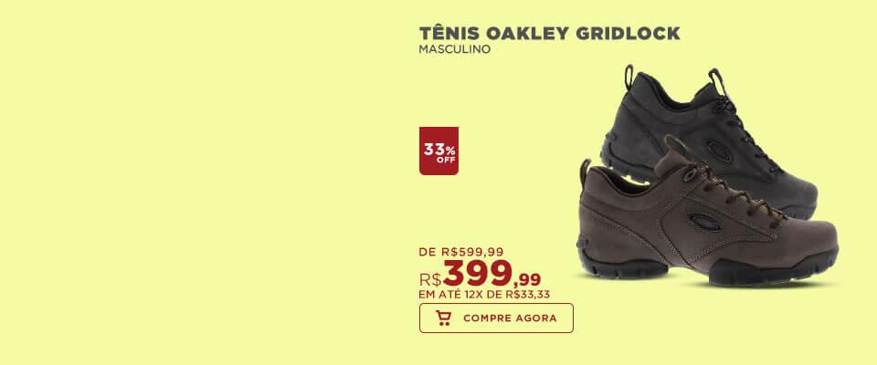 Tênis Oakley Gridlock
